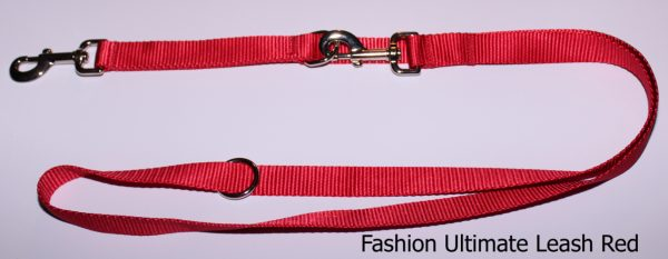 An image of a red Fashion Series Ultimate Leash