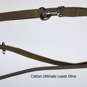 An image of the cotton dog leash from The Ultimate Leash Cotton Series