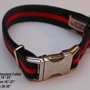 An image of a Red Line dog collar from TheUltimateLeash.com
